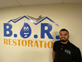 The owner of B.O.R Restoration of Thornton Mike Martinez